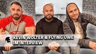 Flying Uwe und Kevin Wolter im Interview über MMA Debüt, Sponsorenwechsel,FITTASTE Einstieg, uvm.