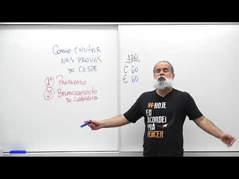 Como chutar no CESPE | Daniel Sena