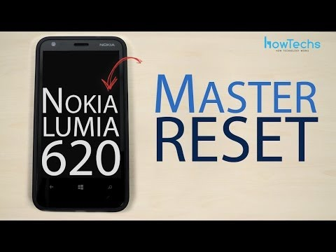 Nokia Lumia 620 Master reset
