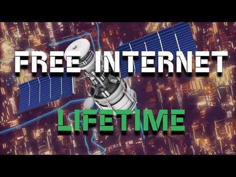 Lifetime Free Internet -The Satellite Internet | Explained in Hindi