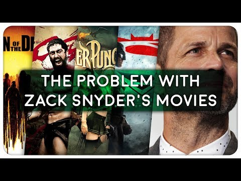 The Problem with Zack Snyder's Movies