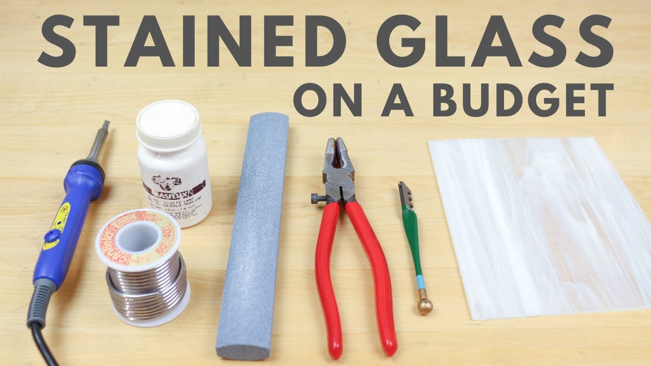 Stained Glass For Beginners: Absolute Budget List