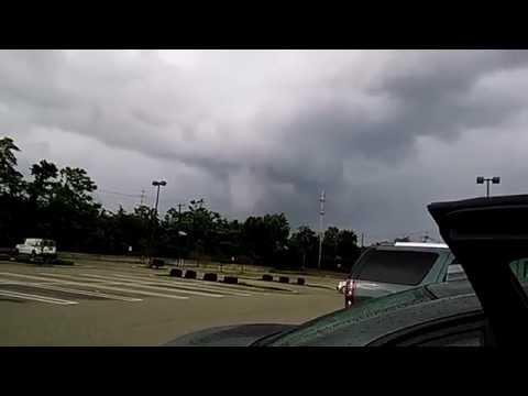 Funnel Cloud Tornado In New Jersey June 21 2015 Youtube