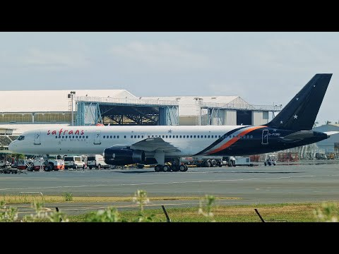 Titan Airways (G-POWH). Landing in Tahiti (NTAA). 10/11/2018