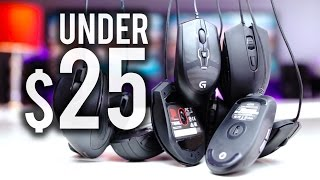 Top Gaming Mice Under $25
