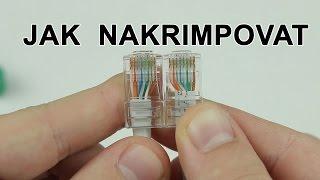 Jak nakrimpovat UTP nebo STP kabel