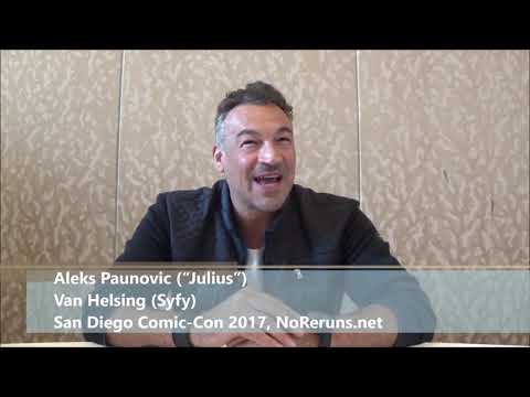 Van Helsing Q&A with Aleks Paunovic SDCC 2017