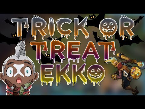 Maxske's Ekko | TRICK OR TREAT EKKO SKIN + CHROMAS!!