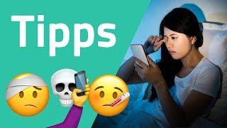 Smartphones schädlich? Nicht mit diesen Tipps!