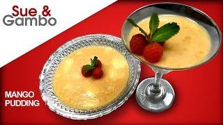 Chinese Mango Pudding Dessert Recipe