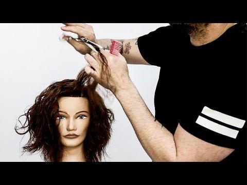 Layered Curly Haircut Tutorial | MATT BECK VLOG SEASON 3 EP 3 thumbnail
