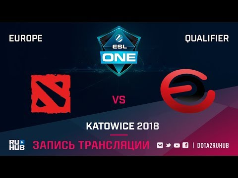 Wise Monkeys vs Evil Corporation, ESL One Katowice EU, game 1 [Adekvat, Smile]