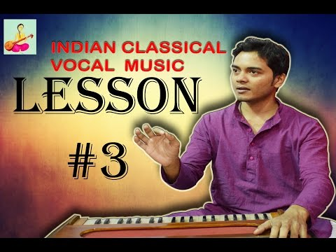 Learn Indian classical music vocal singing Lesson #3 Holding nodes