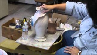meet  Diann Ditewig, clay artist from Tampa and California, dahlia1945@hotmail.com