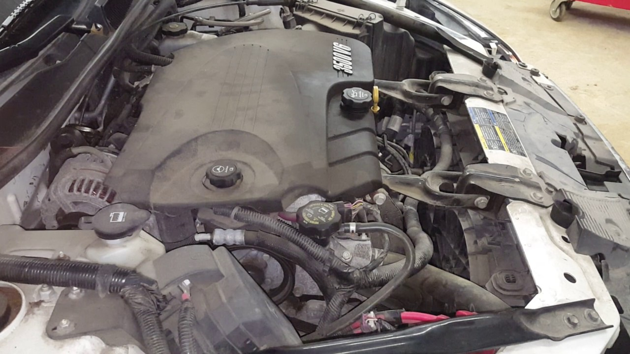 DC0252 - 2010 Chevy Impala LT - 3.5L Engine - YouTube