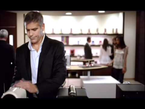 George Clooney reklama Nespresso