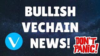 BULLISH VECHAIN NEWS! | CRYPTO BLOOD BATH | CRYPTO NEWS | BITCOIN NEWS | ALTCOIN NEWS
