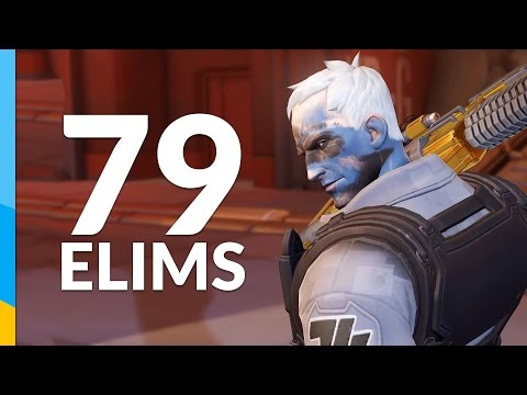 Soldier 76 kills 79 people in 1 game