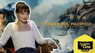 Cailee Spaeny comenta lo que hizo para conseguir su papel en Titanes del Pacífico: La Insurrección.