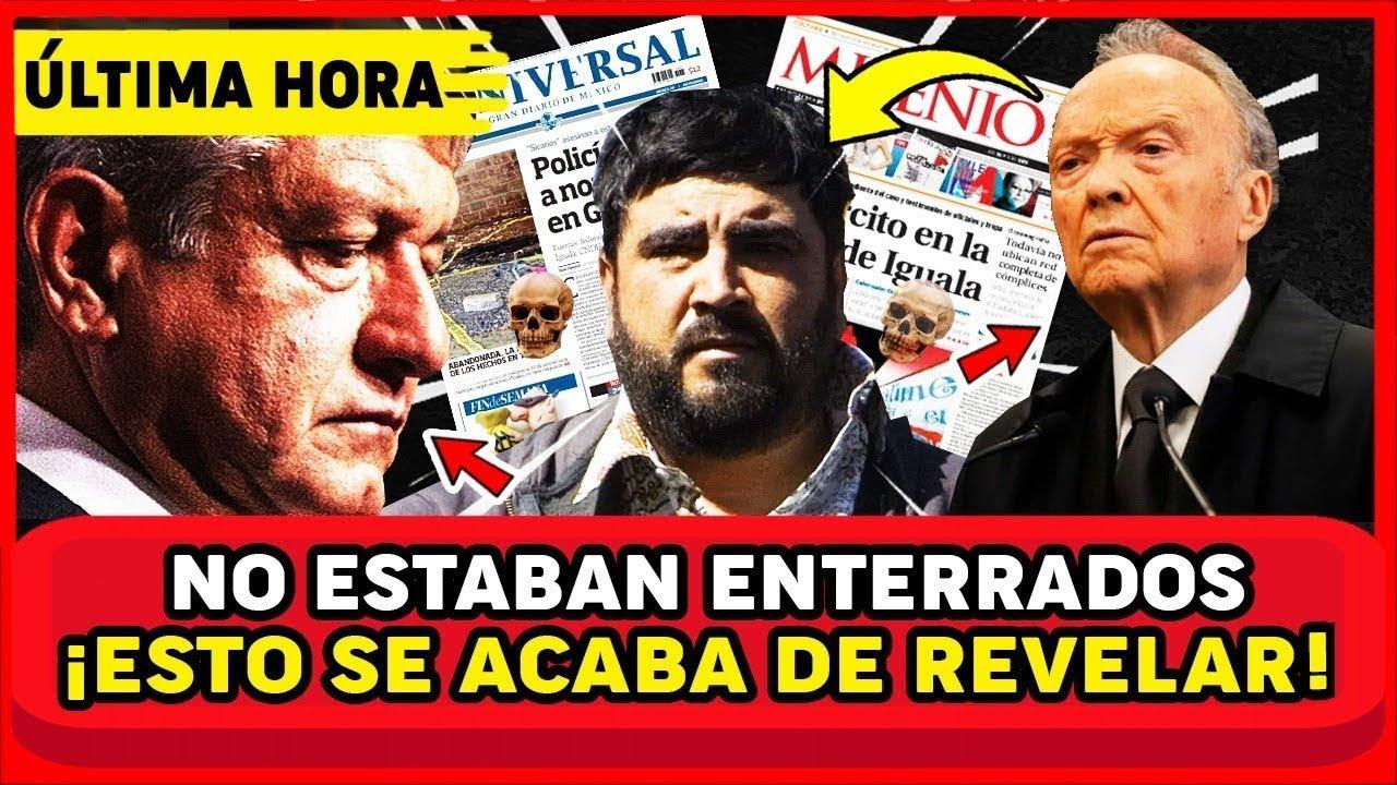 ACABA DE PASAR! CAPTURAN AL QUE DIO CUELL0 A LOS 43 Y REVELA DONDE ESTAN ¡AMLO Y MEXICO EN SH0CK!