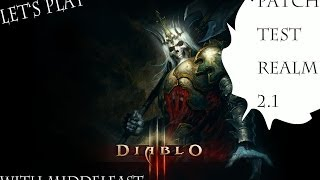 Diablo 3 Reaper of Souls 2.1 PTR Greater Tier Rifts & Co (German)