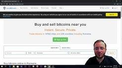 Local Bitcoins - cum cumperi si vinzi Bitcoin folosind CASH sau transfer bancar - tutorial complet