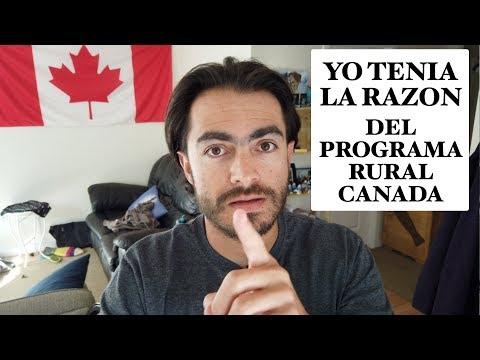 Yo Tenía Razón Sobre El Programa Migrar A Canada Rural - Cuanto Ingles Piden?