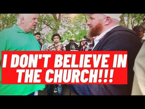 Hamza Myatt Vs A Christian At Speakers Corner Hyde Park.