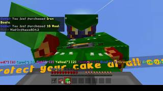 THUNDER BRO SCREAMING CAUSE THUNDER WONT PLAY ROBLOX WITH HIM! Minecraft Cake Wars Ep.7 with Luciano