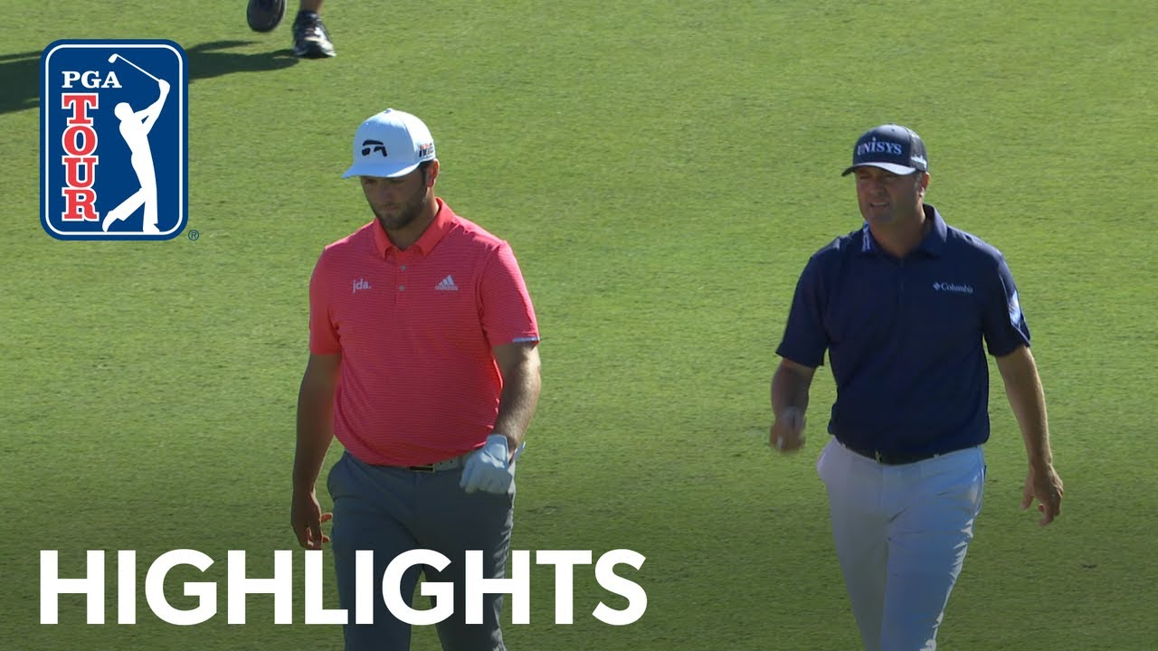 Jon Rahm & Ryan Palmer's Round 4 highlights from Zurich Classic 2019