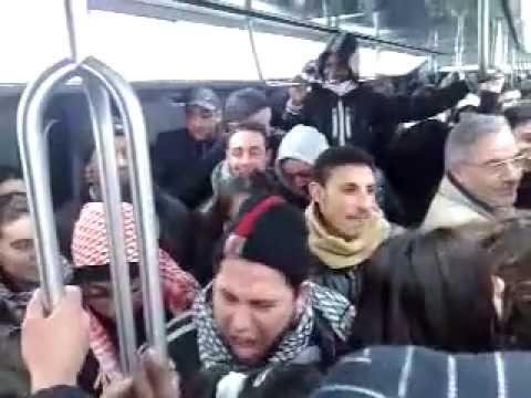 Islam en France (filmé dans le métro à Paris)