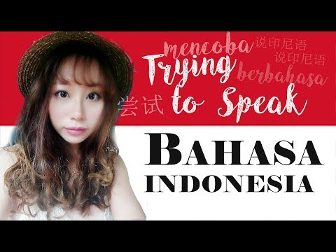 Chinese Malaysian trying to speak Indonesian I Cina Mencoba berbahasa Indonesia I 尝试说印尼语