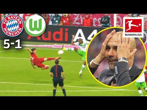 5 Goals in 9 Minutes – The Legendary Lewandowski Show | Bayern München vs. VfL Wolfsburg