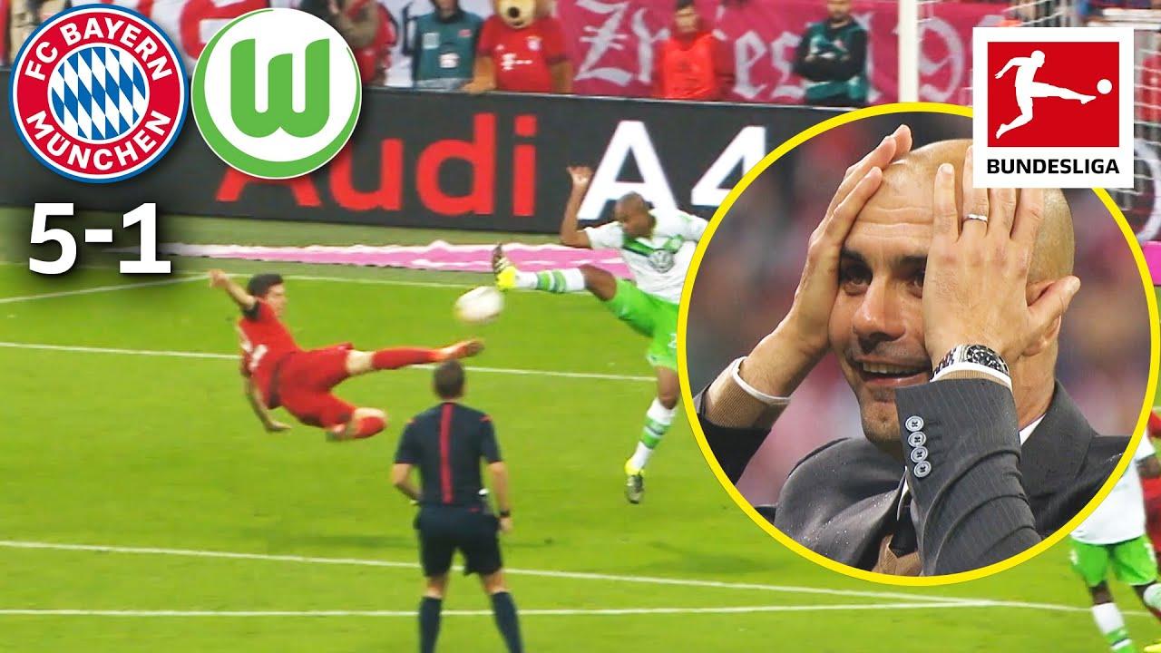 Download 5 Goals in 9 Minutes – The Legendary Lewandowski Show | Bayern München vs. VfL Wolfsburg