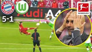5 Goals in 9 Minutes - The Legendary Lewandowski Show | Bayern München vs. VfL Wolfsburg