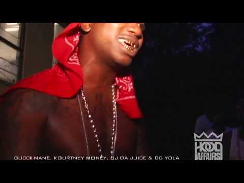 Gucci Mane Freestyle ft. OJ Da Juiceman, Kourtney Money & Dg Yola |Shot By @HoodffairsTv