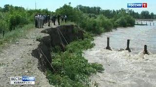 Река Лаба чуть было не вышла из берегов