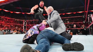 Real Reason Brock Lesnar Destroyed Rey Mysterio On WWE Raw