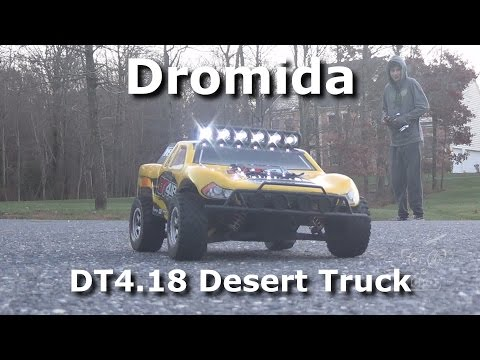 Dromida DT4.18 1/18th Scale Desert Truck with LEDs