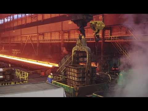Engineering bij Tata Steel : Vervanging zware haspel in de Warmbandwalserij
