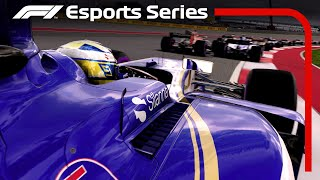 F1 Esports |  Brendon Leigh Chinese Grand Prix Hot Lap | F1 2017