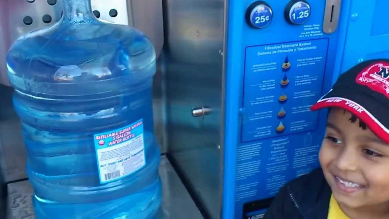 kitchen water dispenser countertop trends glacier vending machine - youtube