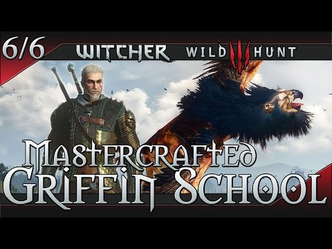 The Witcher 3: Wild Hunt Mastercrafted Griffin School Gear Set