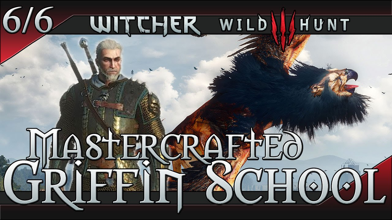 witcher wild hunt scavenger hunt griffin school gear