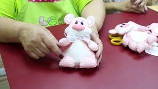 Para iniciantes: Aprenda como fazer uma lindo urso de feltro