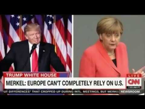 CNN Poppy Harlow Amanpour Merkel Europe cannot completely rely on the United States