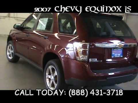 2007 chevy equinox ls chevy equinox youtube. Black Bedroom Furniture Sets. Home Design Ideas