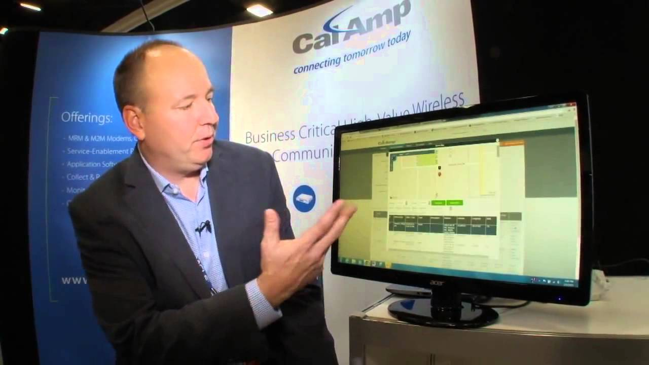 CalAmp Device Outlook - YouTube on