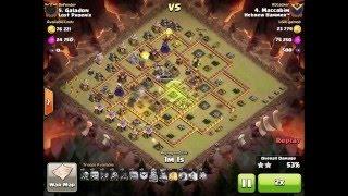 Clash of Clans | Hebrew Hammer vs Lost Phoenix Clan War | HH 3 Star Attacks CoC