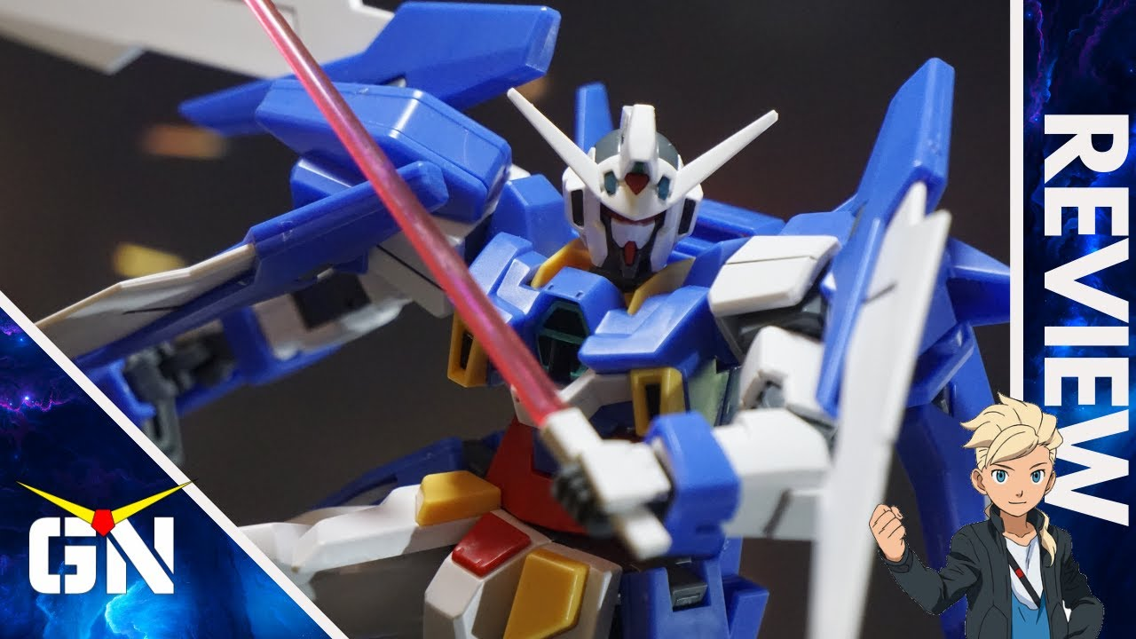 Old But Solid Gold HG 1/144 Gundam AGE 2 Normal | Review